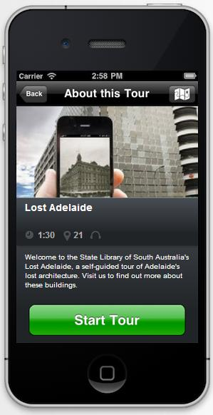 Lost Adelaide screen shot