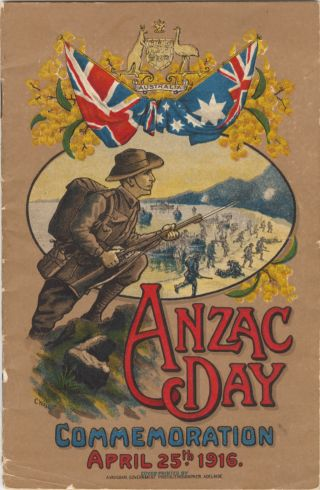 Anzac souvenir extracts